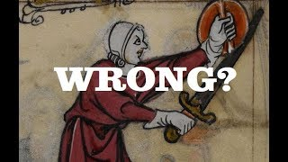 Medieval Swords - Holding Them Wrongly? Response to Shadiversity