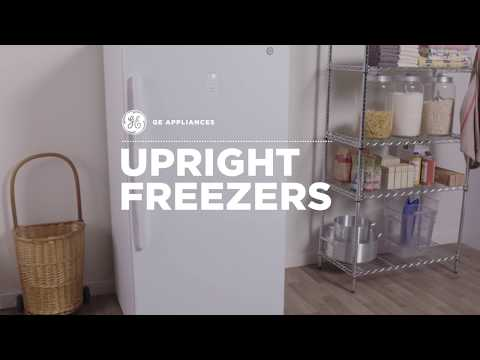 GE Appliances Upright Freezers with Electronic Temperature Control