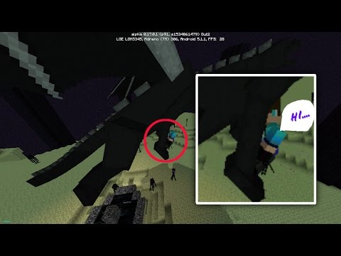 How to ride ender dragon in mcpe| MCPE ENDER DRAGON ADDON|MCPE 0.17.0 RIDE ENDER DRAGON
