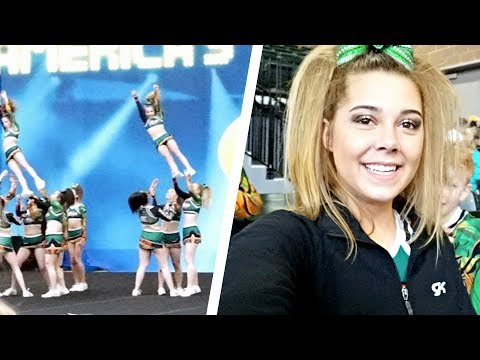 What it's Like to be an Allstar Cheerleader | Maggie's Cheer Competition Vlog!