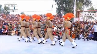 Beating Retreat Ceremony at INDO-PAK Border, Sadiqi (Fazilka)