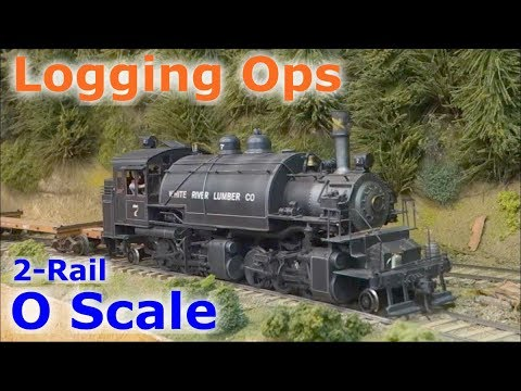 Logging Operations at Clear Creek Lumber Co, Mr. Holombo's O Scale Logging Railroad Layout