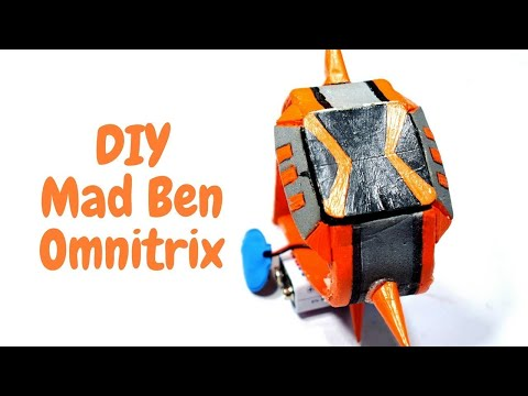 How to Make Omnitrix - | Mad Ben | at home