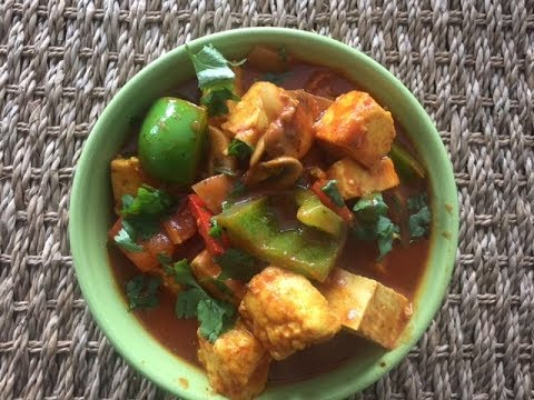 Bell Pepper Paneer Curry Recipe   Easy Healthy Quick Veg Curry dinner