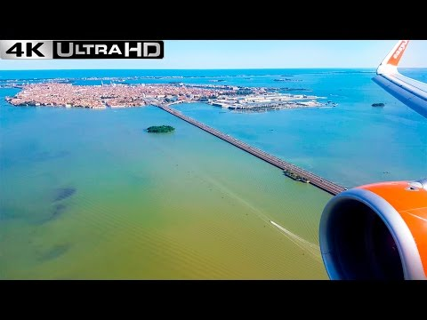 Landing Venice | AWESOME VIEWS!! | EASYJET A320