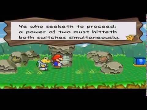 Paper Mario: The Thousand-Year Door Walkthrough Part 7: Folding Under Pressure