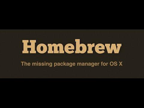 Install Homebrew on Mac OS X