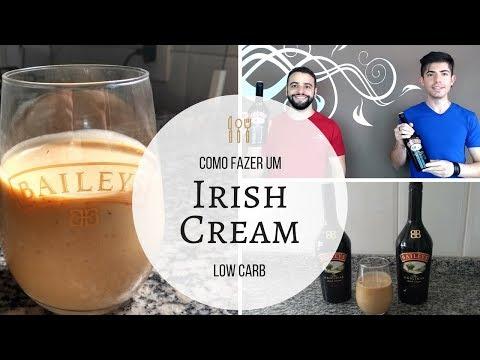 CREME IRLANDÊS LOW-CARB: RECEITA DE BAILEY'S CASEIRO (IRISH CREAM)