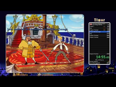 Curse of Monkey Island Mega-Monkey Speedrun in 26:55 [Former WR]