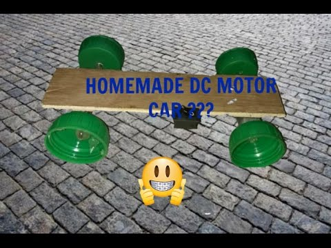 How to make DC motor simple Electric car