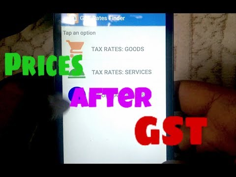 Know Prices after GST !!