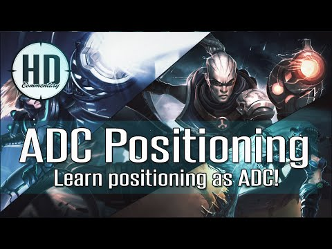 ADC Positioning Guide s6 - Learn to position yourself in Teamfights!