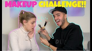 I ruined HER face! (*Makeup Challenge*)
