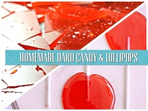 HOMEMADE HARD CANDY/LOLLIPOP RECIPE | AlexAnd Emma