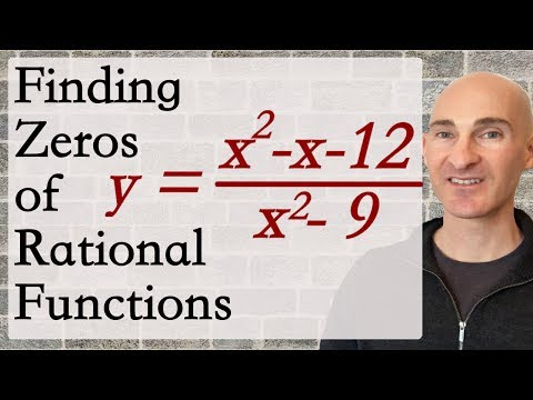 Finding Zeros of Rational Functions