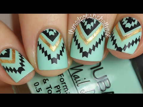 HOW TO APPLY METALLIC JEWELRY TATTOOS TO YOUR NAILS!!!! (Cool summer nail art)