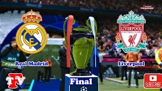 PES 2020 | Real Madrid vs Liverpool | Final UEFA Champions League