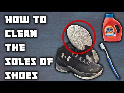 HOW TO CLEAN BASKETBALL SHOES | FOR BETTER TRACTION