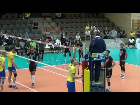 Volleyball Euro 2017 Qualifications: SWE vs POR: Alex gets red card