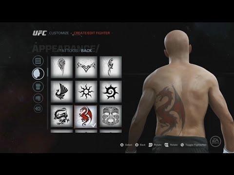 EA SPORTS UFC: Tattoos, Gear & Walkout Songs