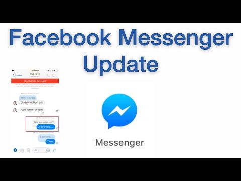 Facebook Messenger Update
