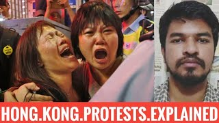 Hong Kong Protest Explained   Tamil