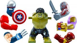 LEGO HULK SMASH (All Marvel Superheroes Hands)