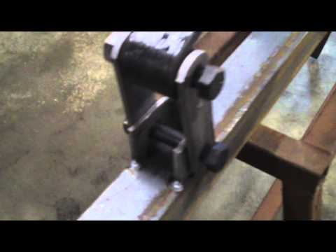 How to build a Utility Trailer Part 4 Mounting Axle, Springs, Shackles, and Crossmembers