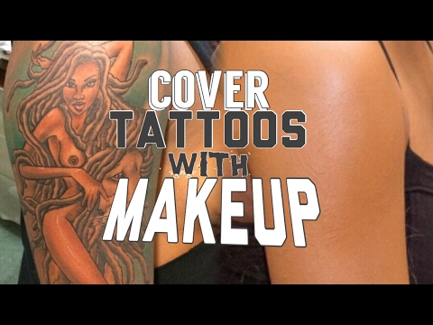 How I Cover my Tattoo with Makeup | Understanding Color Theory