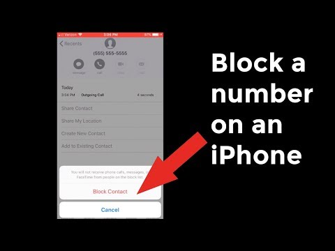 How to Block a Number from Calling or Texting on an iPhone