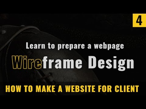 What is website wireframe designing [ in Hindi ]
