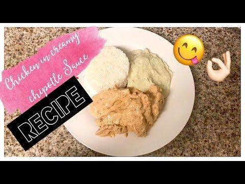 Chicken Breast in Creamy Chipotle Recipe | Easy Dinner | Rocio Guevara
