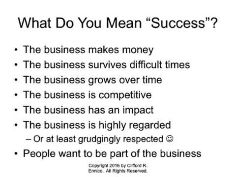Secrets of Small Business Success