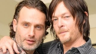 Walking Dead Interview - Andrew Lincoln & Norman Reedus Share Hilarious Episodes On Set