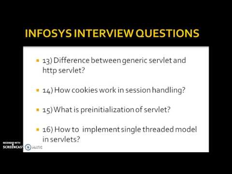 Infosys java interview questions for freshers and experience
