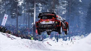WRC Suecia 2018: BEST MOMENTS [HD]