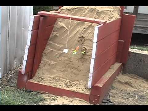SAND BOX ARCHERY TARGET
