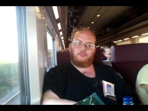 Dublin to Belfast train