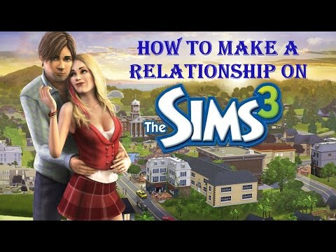 Let's  play the sims 3- (Part 4) - relationship