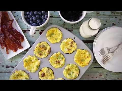 How to Make Scrambled Egg Muffins   Breakfast Recipes   Allrecipes.com