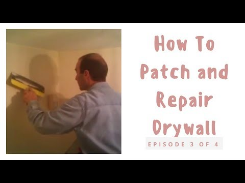 Drywall patch #3