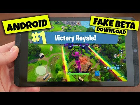 Do NOT download this FORTNITE Mobile ANDROID BETA