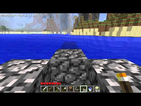 Minecraft How to Make an Awesome Diving Board