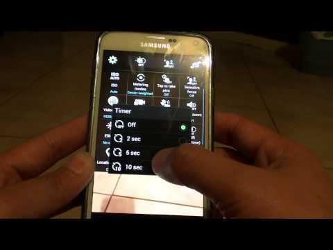 Samsung Galaxy S5: How to Set Camera Timer