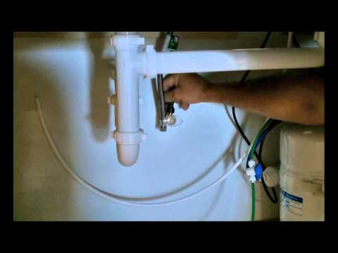 WaterMaker Five Feed Valve Installation - Nimbus Water Systems