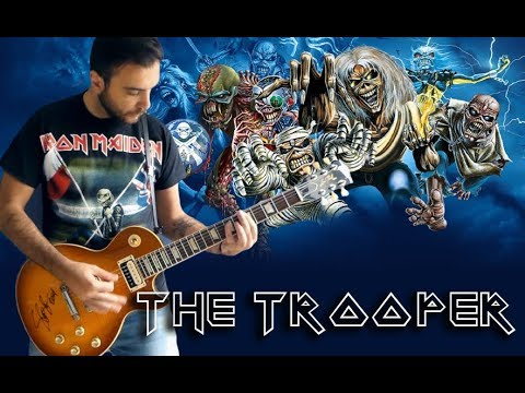 The Trooper - Instrumental Cover (Iron Maiden )