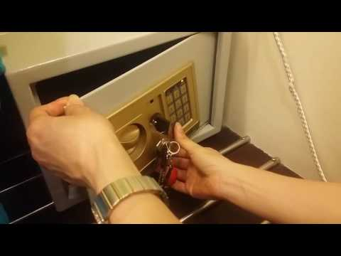 How to unlock a digital safe-Eng