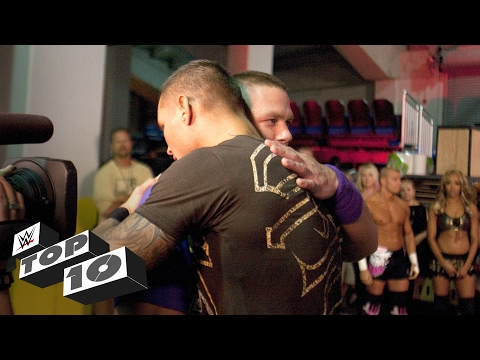 Superstars Hug it Out: WWE Top 10