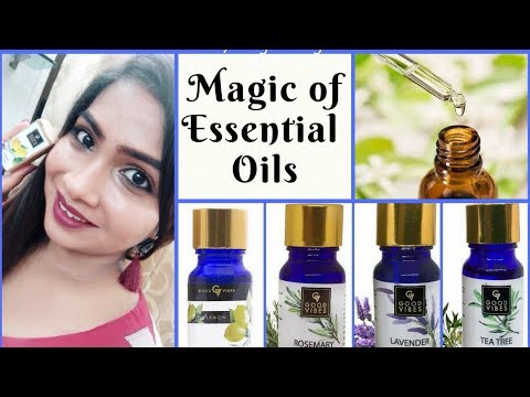 The Magic of ESSENTIAL OILS For Skin, Hair and Wellness | Good Vibes Essential Oil | RABIA SKIN CARE