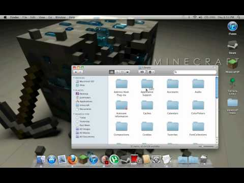 Minecraft Tutorial: How to create and install skins on CRACKED minecraft (Mac)
